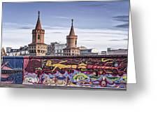 Berlin Wall Greeting Card