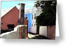 Bermuda Backstreet Greeting Card