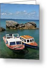 Bermuda Boats Greeting Card