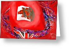 Bermuda Flags Greeting Card