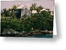 Bermuda Mansion Vision # 4 Greeting Card