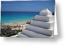 Bermuda Rooftop Greeting Card