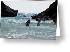 Bermuda Splash Greeting Card