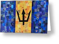 Bermudas Flag Greeting Card