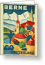 Berne Switzerland - Vintagelized Greeting Card