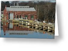 Berrien Springs Powerhouse Greeting Card