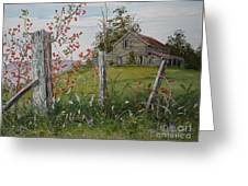 Berry Barn Greeting Card