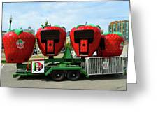 Berry Go Round  Greeting Card