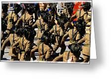 Bersaglieri - Italian Army Greeting Card