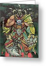 Berserker  Greeting Card