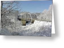 Bert White Bridge Greeting Card