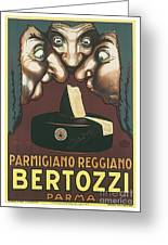 Bertozzi Poster Greeting Card