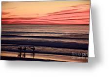 Beside Still Waters - Digital Paint Effect Greeting Card