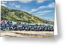 Beside The Seaside Greeting Card