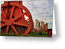 Bessemer Converter - Steel City - Pittsburgh Greeting Card