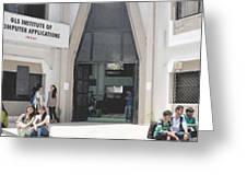 Best Bca College In Ahmedabad,mca College In Ahmedabad,mba College In Ahmedabad,msc It College In Ah Greeting Card