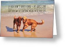 Best Buds Quote Greeting Card