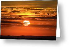 Best Sunset Ever Greeting Card