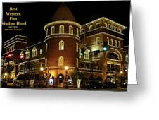 Best Western Plus Windsor Hotel - Christmas Greeting Card