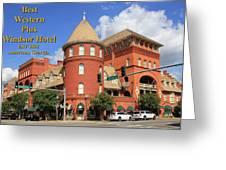 Best Western Plus Windsor Hotel Greeting Card