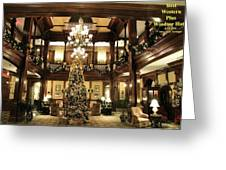Best Western Plus Windsor Hotel Lobby - Christmas Greeting Card