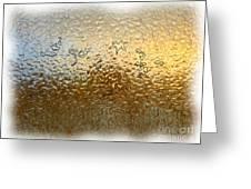 Bestiaire Jaune Or / Golden Bestiary Greeting Card