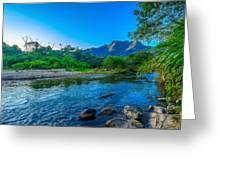 Betari River Greeting Card