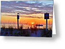 Sunrise In Paradise 2 Greeting Card