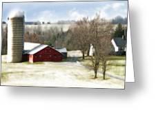 Bethel Barn Greeting Card by Tom Romeo