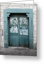 Bethlehem - Blue Door Greeting Card