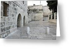 Bethlehem - Manger Square Greeting Card