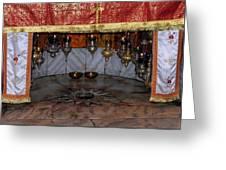 Bethlehem - Nativity Church - Silver Star Greeting Card