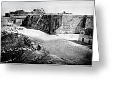 Bethlehem In 1875 Greeting Card