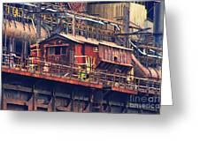 Bethlehem Steel #10 Greeting Card