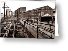 Bethlehem Steel Number Two Machine Shop Greeting Card