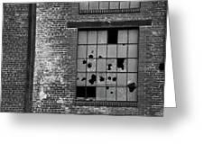 Bethlehem Steel Window Greeting Card