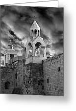Bethlehem With Cloudy Sky Greeting Card