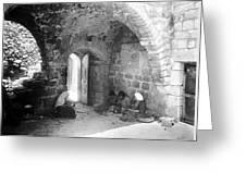 Bethlehemites Women Working Year 1925 Greeting Card