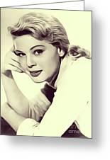 Betsy Palmer, Vintage Actress Greeting Card