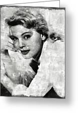 Betsy Palmer Vintage Hollywood Actress Greeting Card