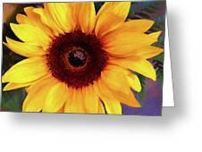 Betsy's Sunflower Greeting Card