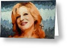Bette Midler Collection - 1 Greeting Card