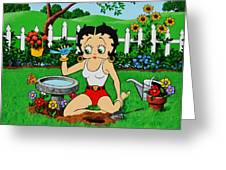 BETTY BOOP 8X10 FRAMED PICTURE PRINT #1