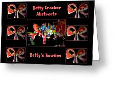 Betty Crocker's Abstracts - Betty's Bowties Greeting Card