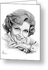Betty White Greeting Card