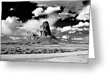 Between Monument Valley And Canyon De Chelley Greeting Card