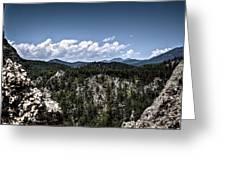 Between The Boulders Greeting Card