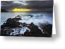 Between Two Storms Greeting Card