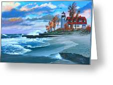 Betzie Lighthouse Greeting Card