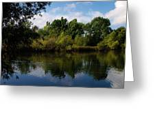 Beus Pond Reflections Greeting Card